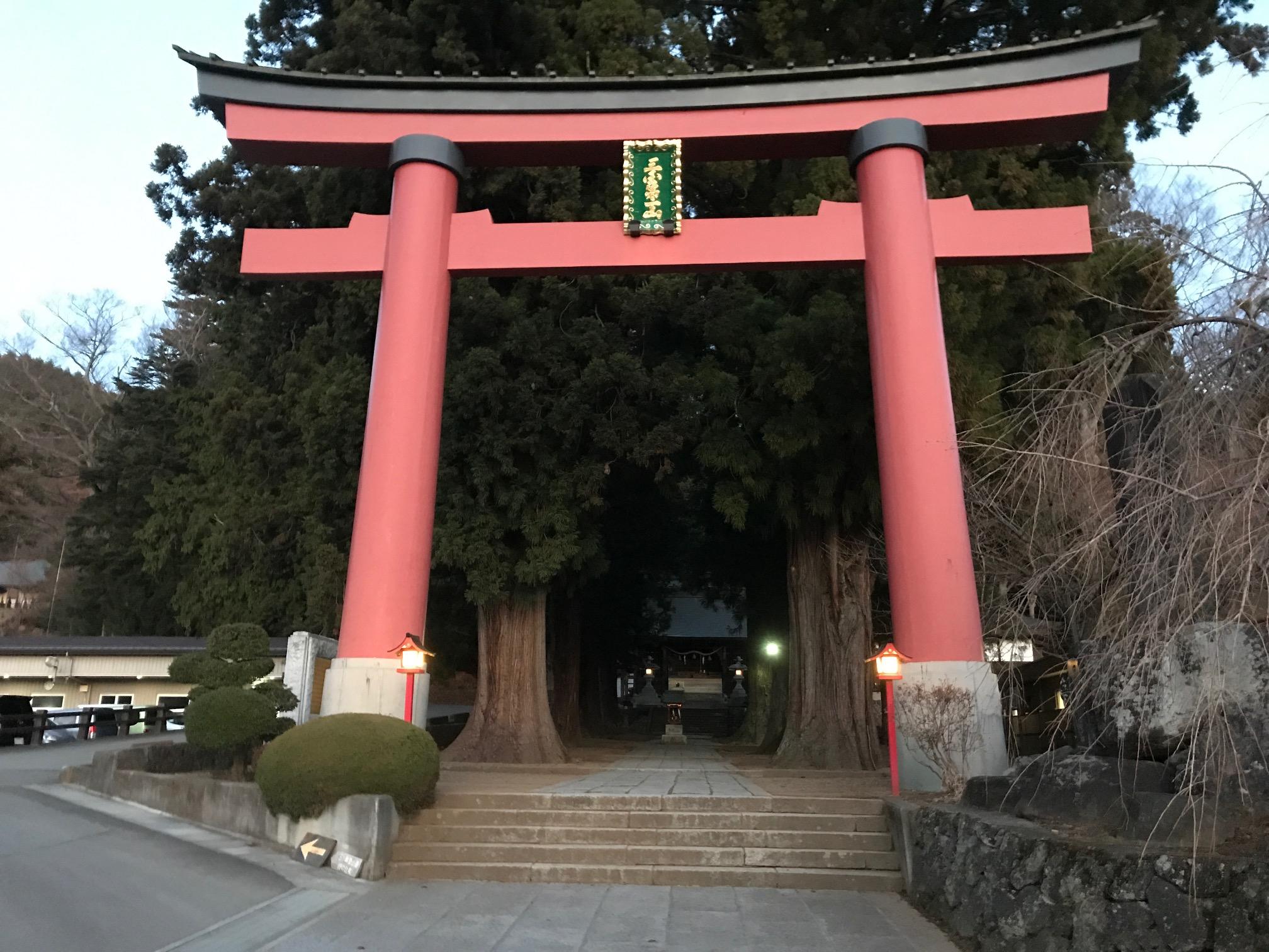 富士山周辺の浅間神社 ④河口浅間神社