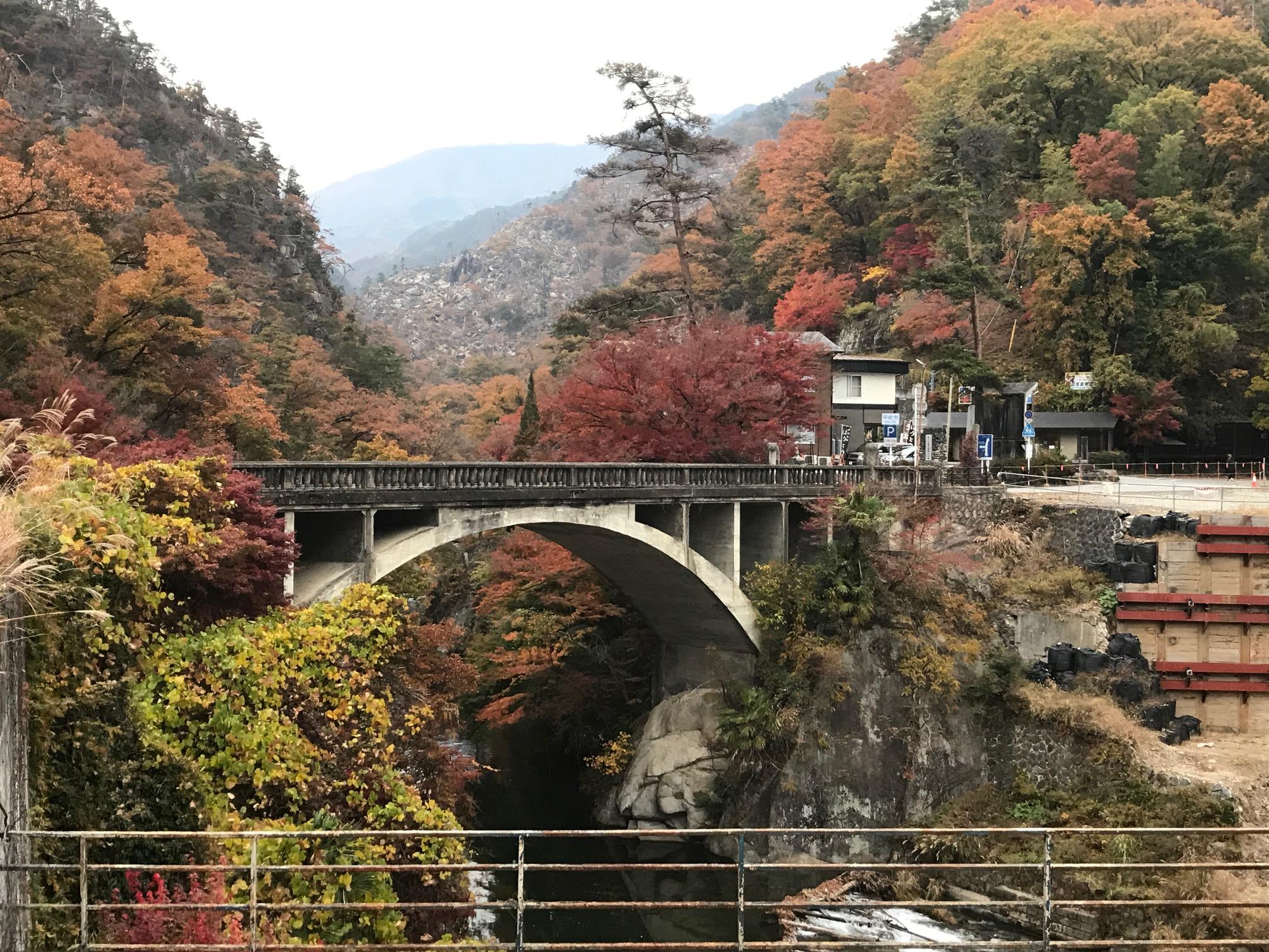 「日本一の渓谷美」