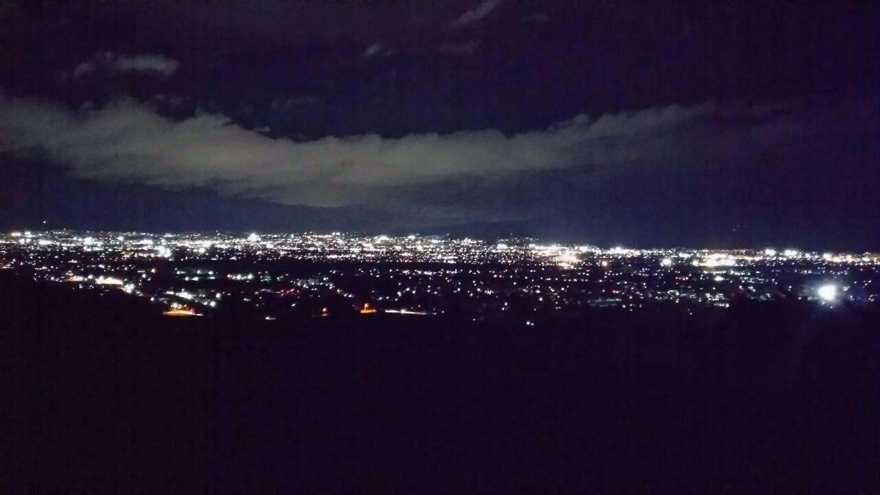 甲府市の夜景
